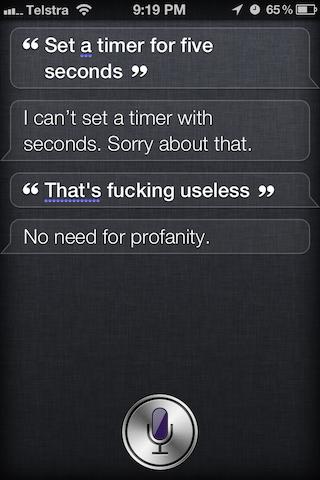 Siri Example 5