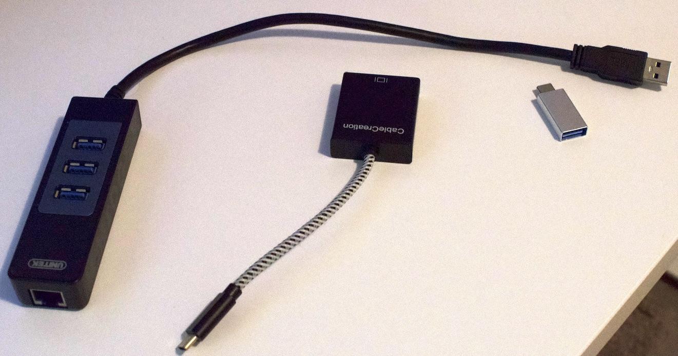 USB Hub and Adaptors